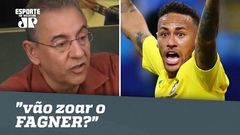 Flavio Prado IRONIZA críticas a NEYMAR vão zoar o FAGNER