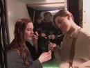 On the set of Titanic (1997)