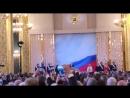 Investiture de Vladimir Vladimirovitch Poutine filmée par l'IPhone de Ramzan Kadyrov