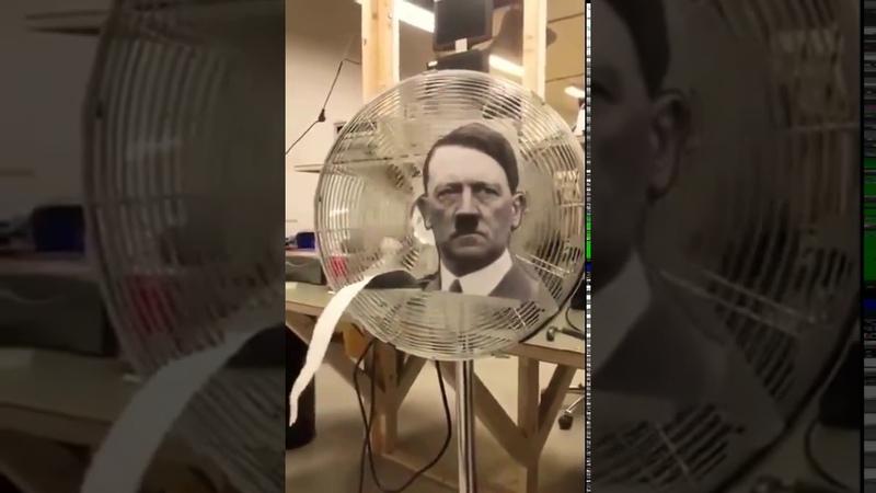 Nazi FAN Hitler The Ventilator