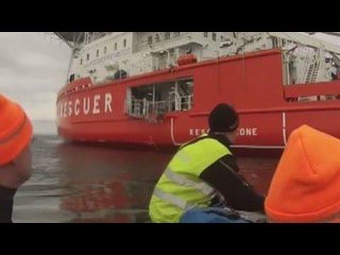 В Карском море обследовано место гибели кораблей времен Великой Отечественной