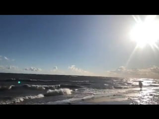 Ветер гонит волны