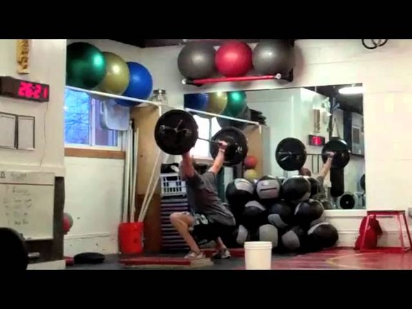 CrossFit - Bull Hero WOD Demo with Kevin Montoya
