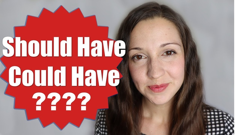 Should Have VS Could Have [English Grammar Lesson]