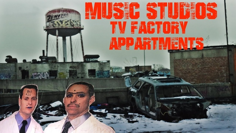 ABANDONED Mattress Factory! MUSIC STUDIOS! Cars! Apartments! Auto shops! ALL IN ONE PLACE!