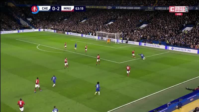 Челси 0:2 Манчестер Юнайтед | Кубок Англии | 1/8 финала | Обор матча