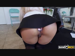 Luna star - stretching luna's big ass with cock & toy [blowjob, anal, cumshot, big ass, blonde, big tits, doggystyle, 720]