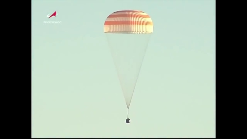 Touchdown! Space Station Crew Returns After 197 Day Mission