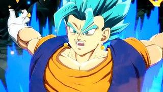 Dragon Ball FighterZ - Vegito Super Saiyan Blue Character Reveal Trailer (HD)