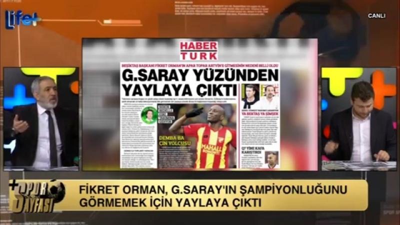 Beşiktaş Başkanı Fikret Orman Galatasaray Yüzünden Yaylaya Çıktı Murat Özarı Uğur Karakullukçu