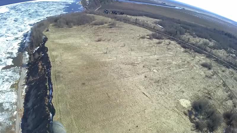 Большой склон Андомы апрель