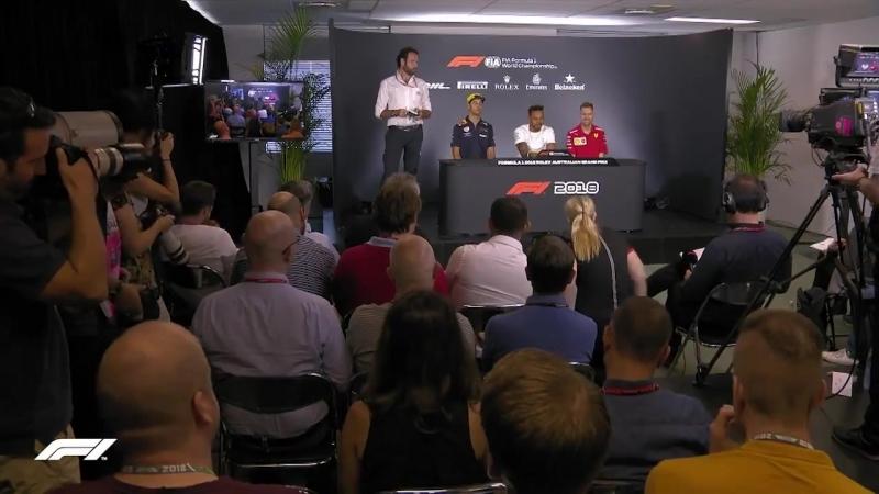 Australia Pre-Race Press Conference: Lewis Hamilton's weakness