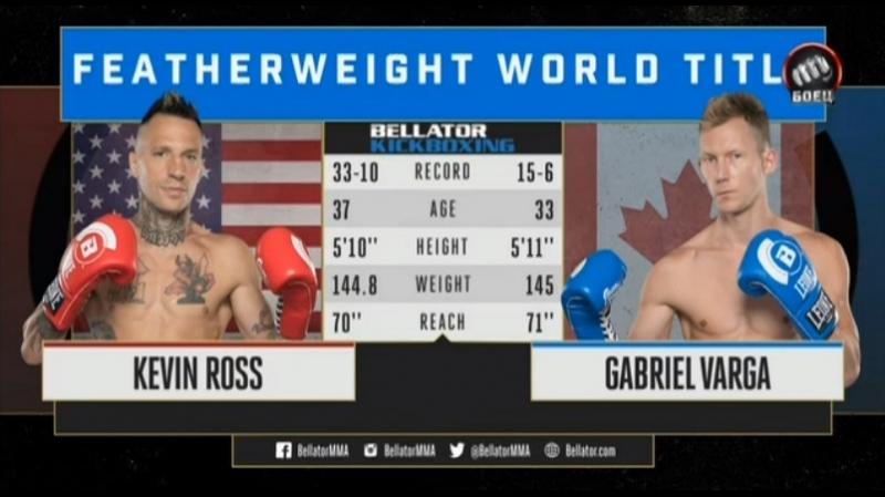 Bellator Kickboxing 10: Kevin Ross vs. Gabriel Varga