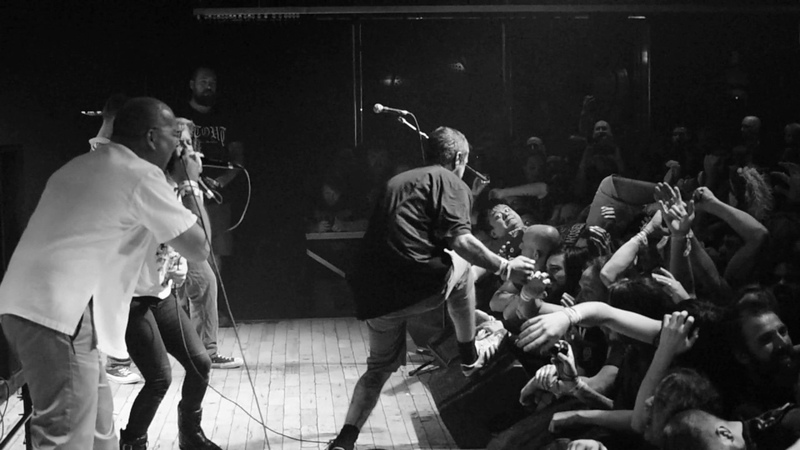 Agoraphobic nosebleed at Baltimore Sound Stage Baltimore, MD on May 27, 2017 2