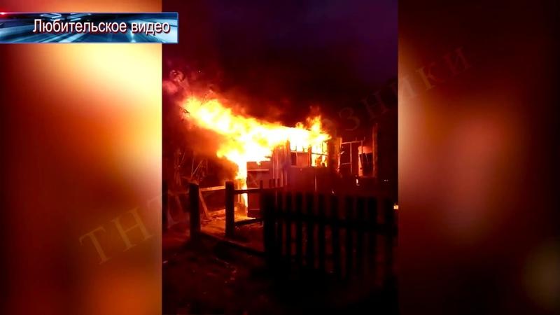 В поселке Шемейный сгорел фельдшерско-акушерский пункт.