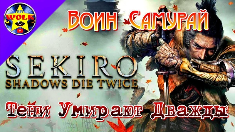 Воин Самурай Секиро |Sekiro Shadows Die Twice | Тени Умирают Дважды