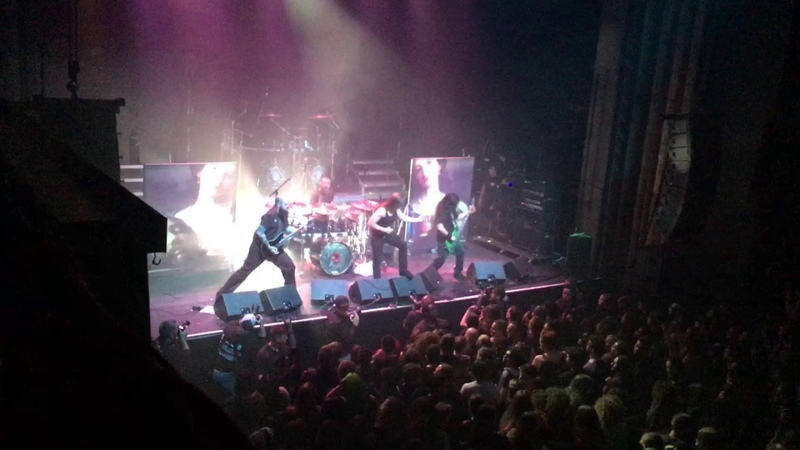 Cryptopsy - Slit Your Guts - Montreal July 24 2017