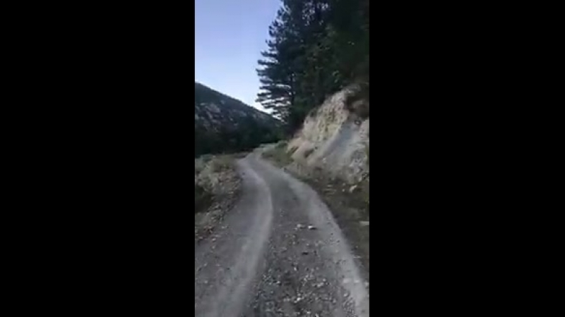 Idlib - - A group of IS fighters singing a nasheed somewhere in the mountains of the Idlib province.