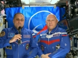 Экипаж МКС с орбиты поздравил россиян с Днём космонавтики