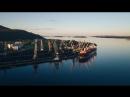 Port Aerial Timelapse Looped Footage