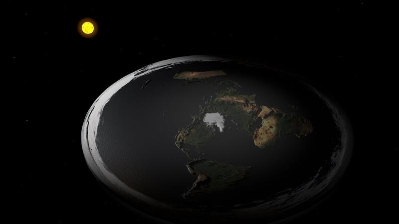 Картинки которые заставят тебя задуматься о Плоской Земле