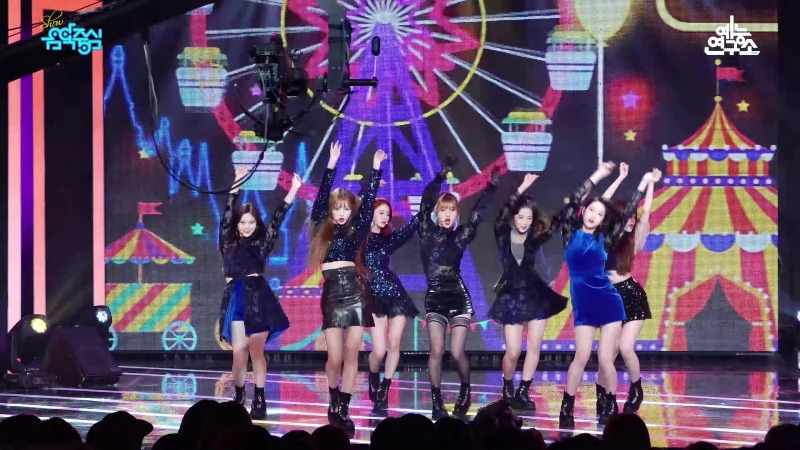 · Fancam · 180922 · OH MY GIRL - Remember Me · MBC Music Core ·