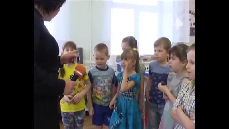 говорят дети д/с Тополек из программы Дорожный патруль за 16.04.19