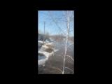 Паводок в Саратовской области ( село Новые Выселки Калининского района)