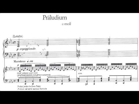 Cyprien Katsaris - Bach: Prelude (Fantasia) in C minor, BWV 921