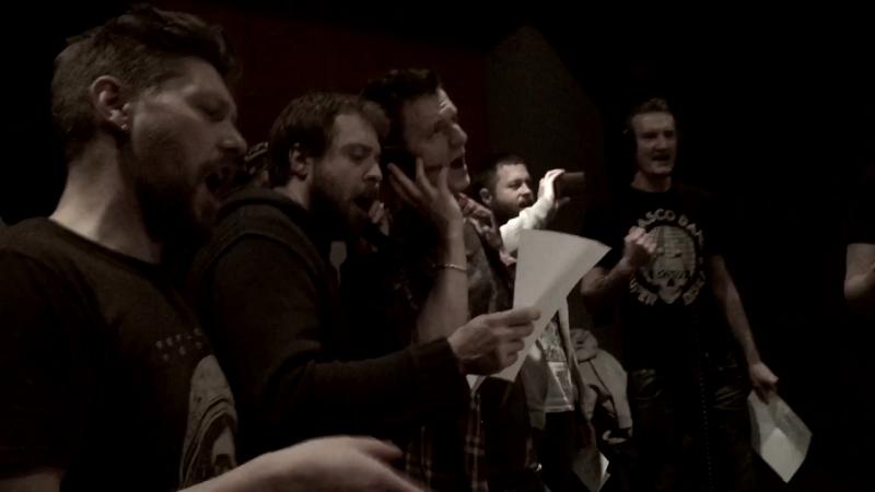 Запись хора для фильма «Тренер» на Meat Factory Studio