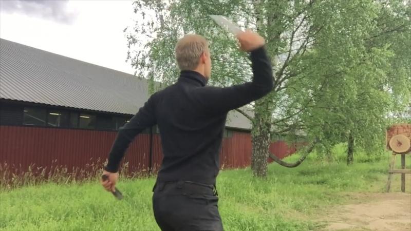 Joel Holopainen готовится к чемпионату.