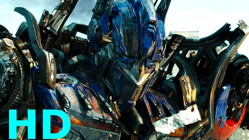 Optimus Prime vs. Megatron Sentinel Prime - Transformers: Dark Of The Moon Blu-ray HD Sheitla