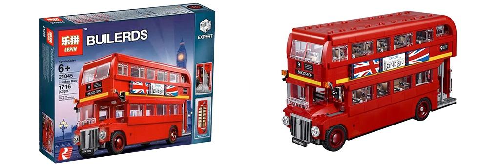 Конструктор Lepin Лондонский автобус 21045