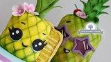 How to make a pineapple cake Kawaii fruit cakes