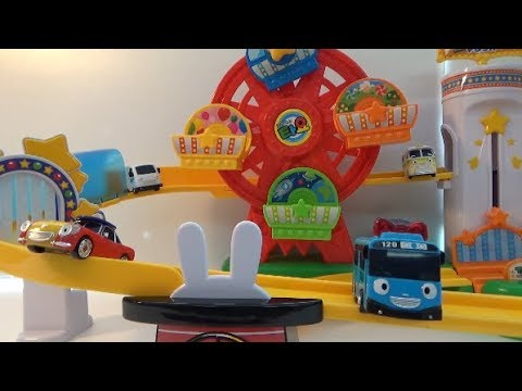 Tayo The Little Bus New Amusement Park Play Set! Exciting car play Toys