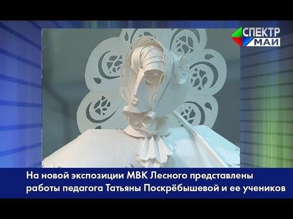 На новой экспозиции МВК Лесного представлены работы педагога Татьяны Поскрёбышевой и ее учеников