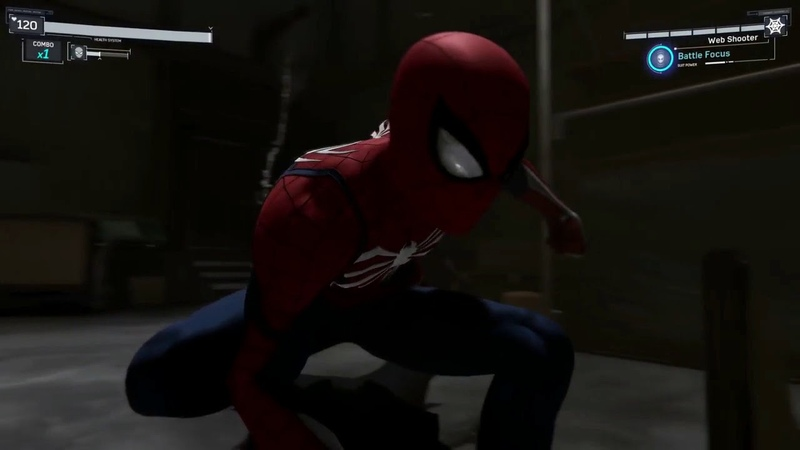 Spiderman Infiltration Gameplay Trailer 4K