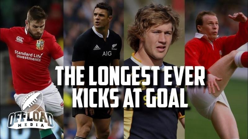 The longest ever kicks at goal. Сообщество Регби