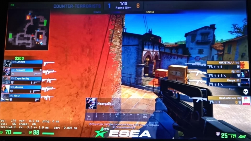4 heavyz0r Esea A rank famas