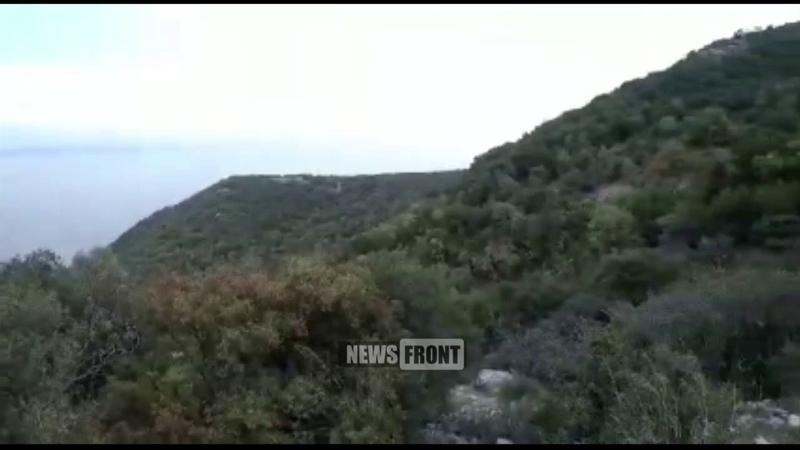 Группы правительственных сил Сирии патрулируют линию