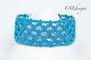 Celtic inspired micro macrame bracelet ⎮ St. Patrick's Day