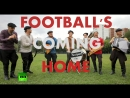 'It's Coming Home ' Russian folk band performs famous Three Lions song