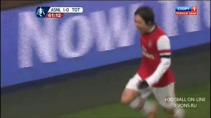 Арсенал 2-0 Тоттенхэм КА 2013-14