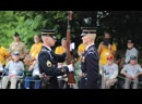 Rifle Inspection by Guard Commander with Sound Effects