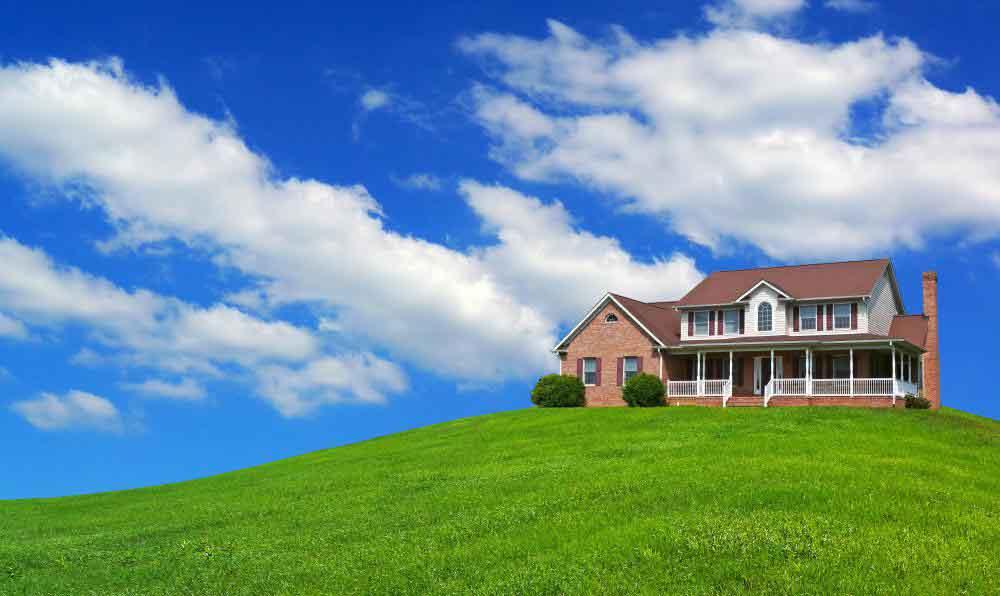 Архитектурный проект частного дома строится на участке земли
