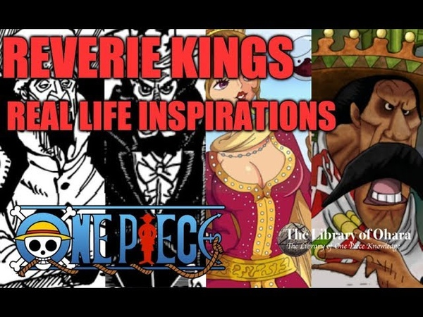 One Piece 905 - Real Life Inspirations of the Kings Attending the Reverie