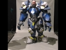 Reinhardt Overwatch cosplay