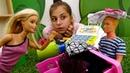 Мультики для девочек - Барби ревнует Кена - Видео про кукол