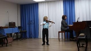 Митя Махонин (7 лет) - И.Тамарин - Старинный гобелен
