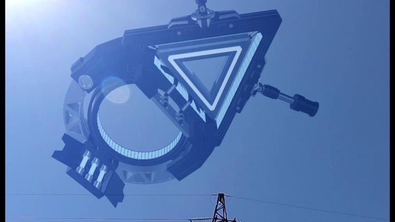 не может быть эти объекты удивляли весь мир имея странную структуру корабля